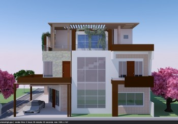 Proposed Residence for Mr. Ajaya Kumra At Omax City, Lucknow