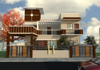 Proposed Residence For Mr. Anoop Mishra At Lucknow