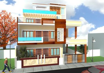 Proposed Residence for Mr.Anoop Trivedi at Lucknow