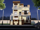 PROPOSED RESIDENCE FOR MR. RATNAKER MISHRA AT LUCKNOW